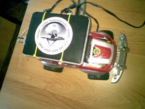 Arduino роботомашина на Android Hackathon 2012
