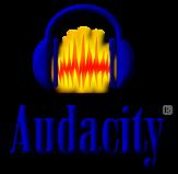 Логотип Audacity