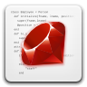 Icon for application-x-ruby MIME type